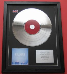 THE KILLERS - Hot Fuss CD / PLATINUM LP DISC